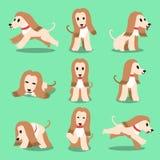 Cartoon character afghan hound dog poses Stock Photo