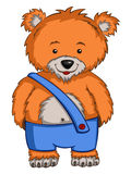 Cartoon Character Bear Stock Image