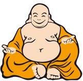 Cartoon Character Buddha Stock Photography