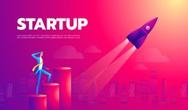 Cartoon character, businessman flying in startup rocket. Vector eps10. Cartoon character, businessman flying in startup rocket. Vector eps10 vector illustration