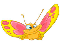 Cartoon Character Butterfly Royalty Free Stock Photography