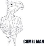 Cartoon character camel Royalty Free Stock Photos