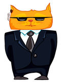 Cartoon Character Cat Royalty Free Stock Photo