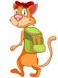 Cartoon Character Cat Royalty Free Stock Photo