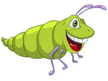 Cartoon Character Caterpillar Royalty Free Stock Photo