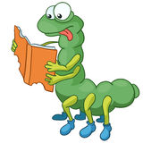 Cartoon Character Caterpillar Royalty Free Stock Photography
