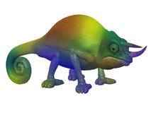 Cartoon Character Chameleon Royalty Free Stock Photos