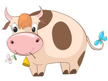 Cartoon Character Cow Royalty Free Stock Image