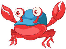 Cartoon Character Crab Stock Photography