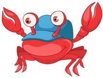 Cartoon Character Crab Stock Photography