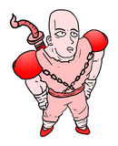 Cartoon character Royalty Free Stock Photography