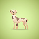 Cartoon character dalmatian dog Royalty Free Stock Image