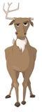 Cartoon Character Deer Royalty Free Stock Images