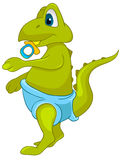Cartoon Character Dino Stock Image