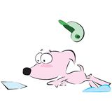 Cartoon Character-dog Stock Photo