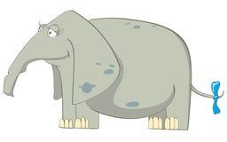 Cartoon Character Elephant Royalty Free Stock Photo