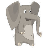 Cartoon Character Elephant Royalty Free Stock Images