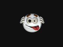 Cartoon character emoticon Royalty Free Stock Photos