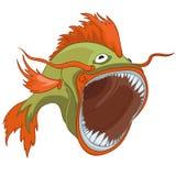 Cartoon Character Fish Royalty Free Stock Image