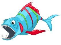 Cartoon Character Fish Royalty Free Stock Photo