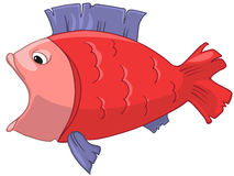 Cartoon Character Fish Royalty Free Stock Image