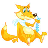 Cartoon Character Fox Stock Images