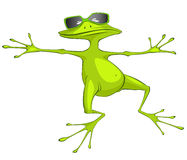 Cartoon Character Frog Stock Photography
