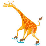 Cartoon Character Giraffe Royalty Free Stock Photography