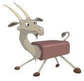 Cartoon Character Goat Stock Photo