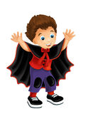 Cartoon character - halloween -  background Royalty Free Stock Photography