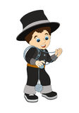 Cartoon character - halloween - illustration for t Royalty Free Stock Photography