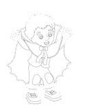 Cartoon character - halloween - illustration for t Stock Photo