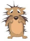Cartoon Character Hedgehog Royalty Free Stock Image