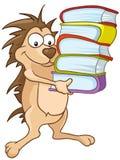 Cartoon Character Hedgehog Stock Image