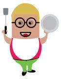 Cartoon character I Stock Photo