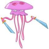 Cartoon Character Medusa Stock Photo
