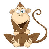 Cartoon Character Monkey Stock Photography
