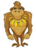 Cartoon Character Monkey Royalty Free Stock Image