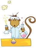 Cartoon Character Monkey Stock Image