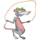 Cartoon Character Mouse Royalty Free Stock Photos