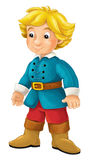 Cartoon character - nobleman - prince -  Royalty Free Stock Photography