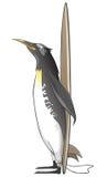 Cartoon Character Penguin Stock Photo