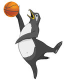 Cartoon Character Penguin Stock Image