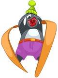 Cartoon Character Penguin Royalty Free Stock Photo