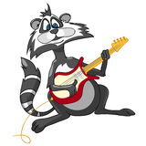 Cartoon Character Raccoon Royalty Free Stock Photography