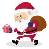 Cartoon character Santa Claus Royalty Free Stock Image