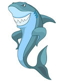 Cartoon Character Shark Stock Photo