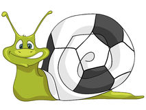 Cartoon Character Snail Stock Photo