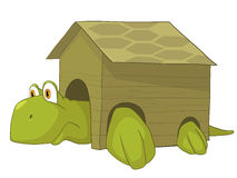 Cartoon Character Turtle Stock Photography