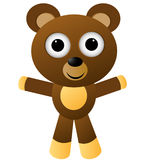 Cartoon character vector - bear/eps Royalty Free Stock Photography